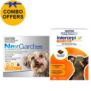Nexgard + Interceptor Combo Pack for Dog