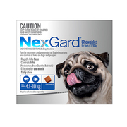 Nexgard Chewables For Dogs (4.1 - 10 Kg)  - Flea and Tick Treatment