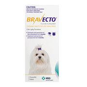 Bravecto For Dog : (2 - 4.5 Kg) Yellow - Flea & Tick Treatment