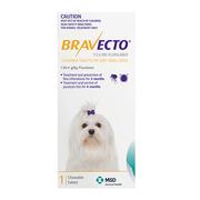 Bravecto Dog : (20 - 40 Kg) Blue - Flea & Tick Treatment