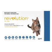 Buy Revolution for Cats- Flea,  Ticks and Worms Control