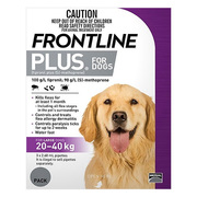 Frontline Plus - Flea and Tick Control for Large Dogs