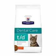 Buy Hills Prescription Diet t/d Dental Care Dry Cat Food-Vetsupply