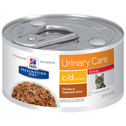 Hill's Diet c/d Multicare Chicken and Vegetable Stew Canned Cat Food