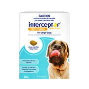 Interceptor Spectrum for Large Dog 22 to 45kg