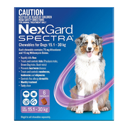 Nexgard Spectra for Large dogs - 15.1 to 30 kg