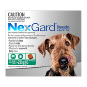 Nexgard Chewables for Medium Dogs 10.1 to 25kg
