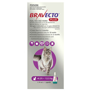 Bravecto Spot-on for Large Cats ( 6.25 - 12.5 kg)