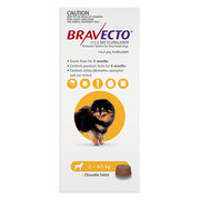 Buy Bravecto (FLURALANER) for Dogs: Flea & Tick treatment at lowest Pr