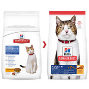 Buy Hills Science Diet Adult 7+ Chicken Senior Dry Cat Food