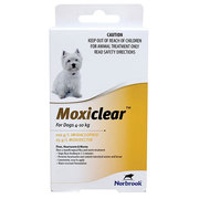 Moxiclear for Small Dogs 4 to 10kg