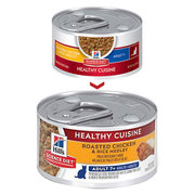 Hills Science Diet Adult 7+ Cuisine Chicken & Rice Medley Can cat food