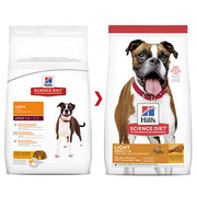 Hills Science Diet Adult Light with Chicken Meal & Barley Dry Dog Food