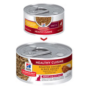 Hill's Science Diet Adult Cuisine Roasted Chicken & Rice Medley cat