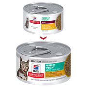 Hills Science Diet Adult Perfect Weight Vegetable & Chicken Canned Cat