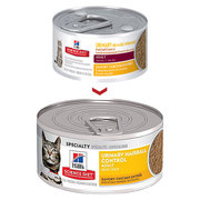 Hills Science Adult Urinary Hairball Control Chicken Entree Canned cat