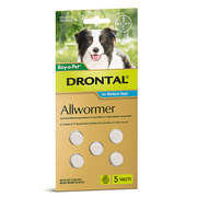 Buy Drontal Allwormer For Dogs Chewable Tablets Online Australia