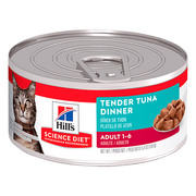 HILL'S SCIENCE DIET TENDER TUNA DINNER ADULT CANNED WET CAT FOOD