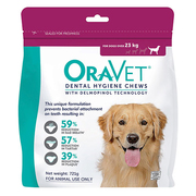 Oravet Dental Chews for Large Dogs (Over 23 kg)